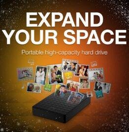segate portable hard drive