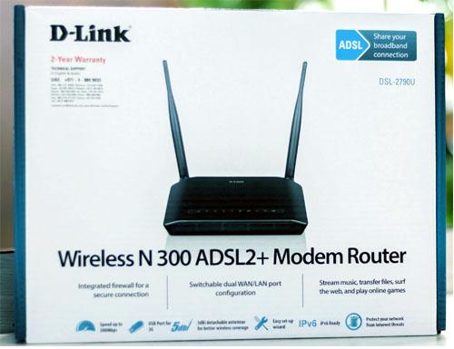 Dlink wireless modem router